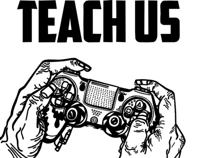 """""""What Video Games Can Teach Us"""" Editorial Illustration"""