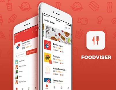 Foodviser - Online Food Delivery (Android/iOS App)