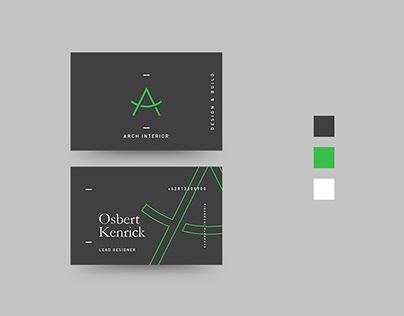 Arch Interior, Branding and Identity