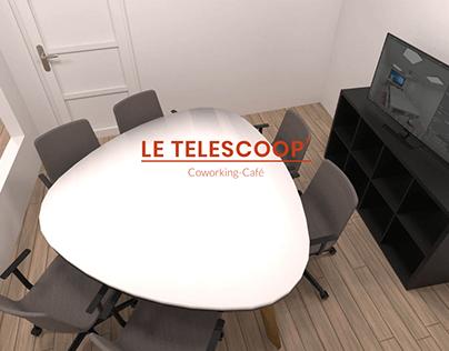 Telescoop' - Coworking-Café