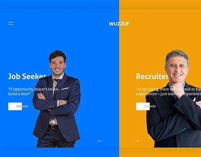 Wuzzuf web app