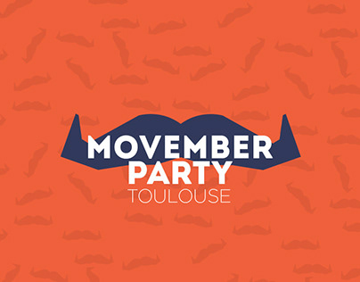 Movember Toulouse 2014 - Graphic design