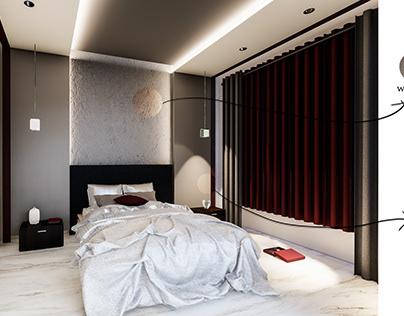 Simple BedRoom - Amman