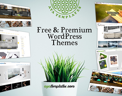 Free & Premium WordPress Themes - Aya Templates