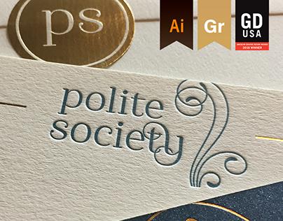 Polite Society - Brand Identity