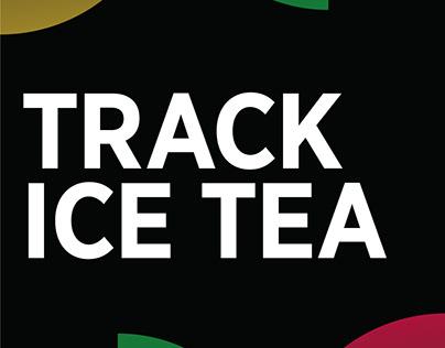 Flyer Design Track Tea