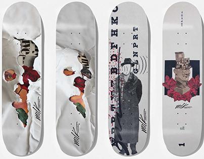 Milk Skateboards x BetoJanz Collection 2019