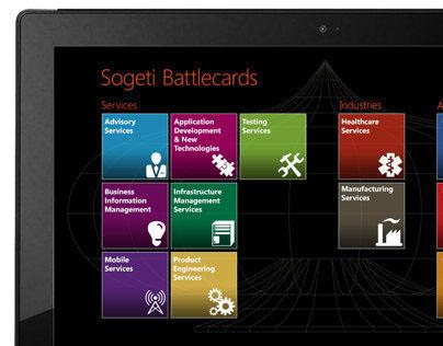 Sogeti Battlecards - Windows 8 App