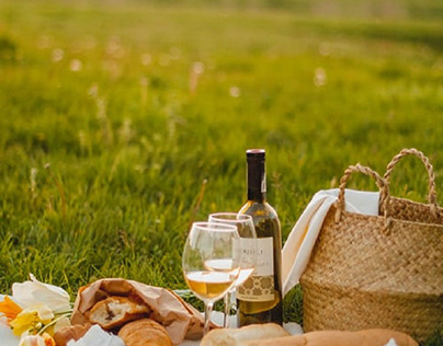 A good day for a romantic picnic