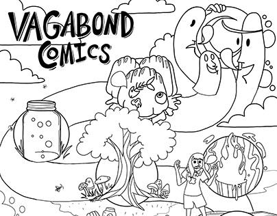 Vagabond comics Retrospective coloring map