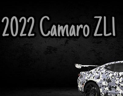 2022 Camaro ZL1 Teaser