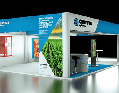 Corteva Booth Renders
