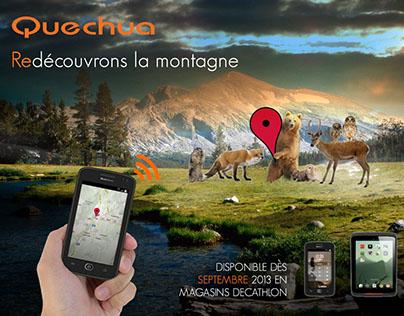 Compétition Iscom - Quechua Phone - Print