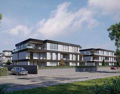 CGI: Residential building in Falkensee, Germany