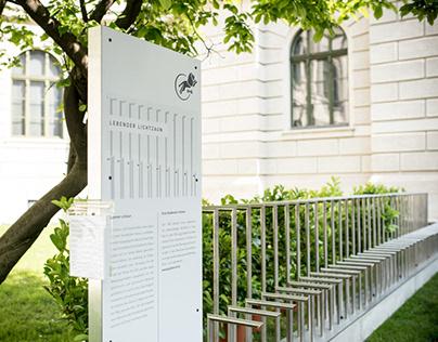 Customized Fences Ausstellung für H+S