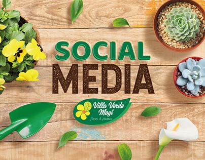 Social Media Villa Verde