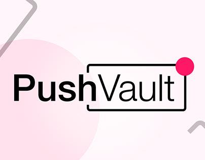 PushVault logo