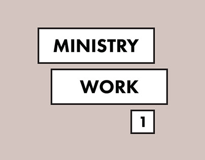 Ministry Work: 1