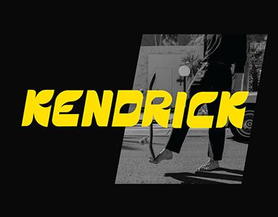 KENDRICK - display font