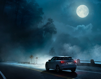 Audi Road Trip - Photo & Retouching