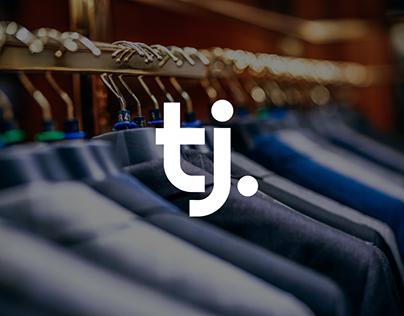 Tailored by J Logo Design - Branding Design