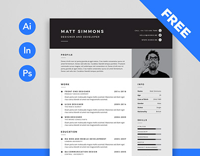 Free Resume Template (Pro)
