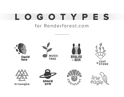 Logotypes for Renderforest