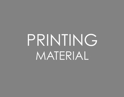 Printing Material
