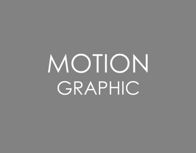 Motion Graphic