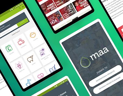 MAA Charity App