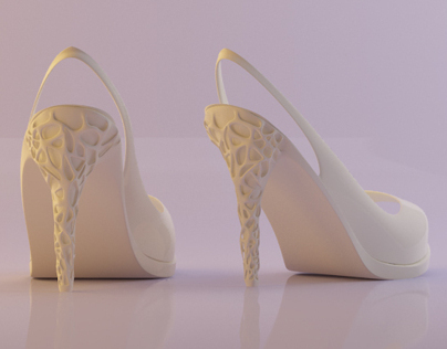 Rapid prototyping shoes