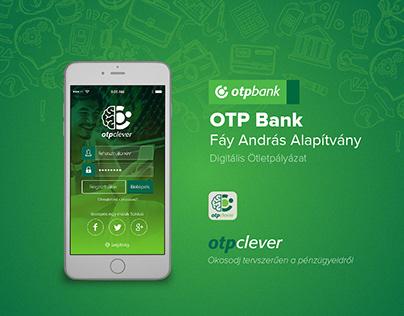 OTP Bank App - UI/UX Design