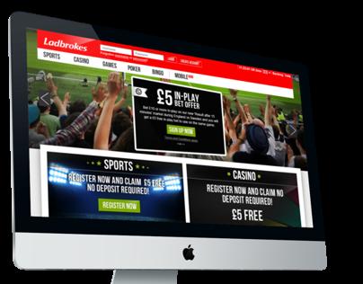 Ladbrokes ecommerce site
