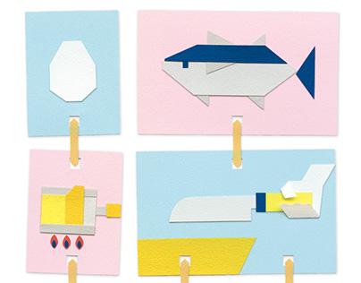 Japanese Sushi Infographics