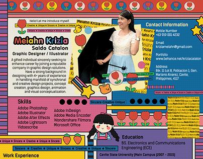 Graphic Designer / Illustrator - CV, Cover Letter, etc