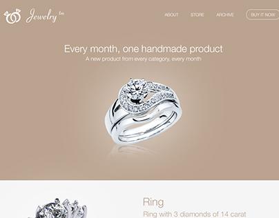 Jewelry Rebranding & Redesign