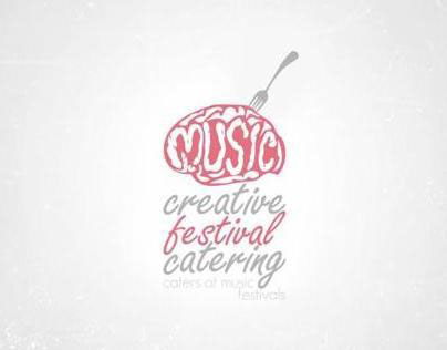 Music Creative Festival Catering - Logo