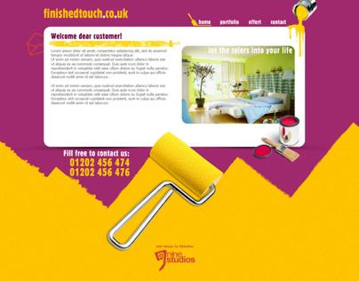 FinishedTouch - Web Design/ Web Development
