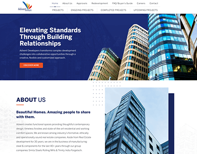 Real Estate and Developers Website By Kazi Solutions