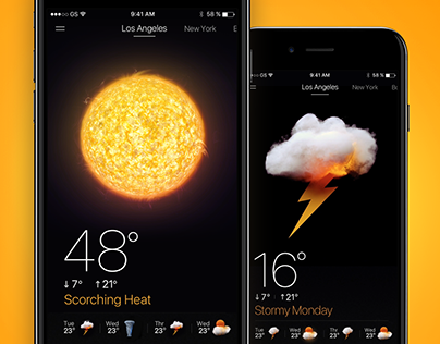⚡RealWeather - 3D Animated Weather App