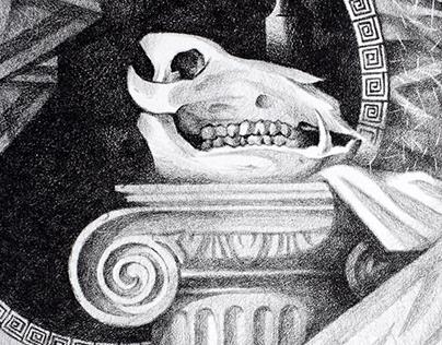 Still life with the skull