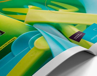 Editorial Design – Novozymes customer magazine