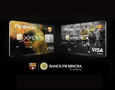 Banco Pichincha - Barcelona Signature Debit Card
