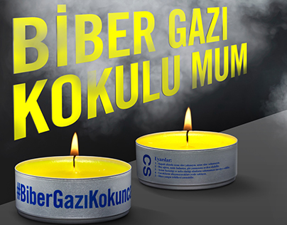 "Amnesty ""Tear Gas Scented Candles"""