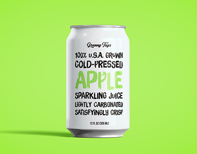 Granny Tay's Sparkling Juices - Packaging