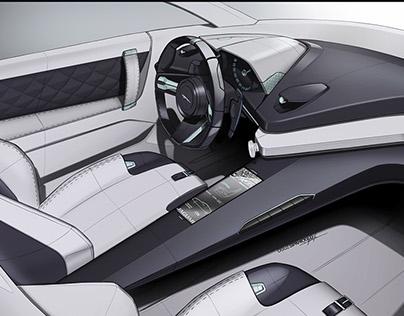 Jaguar 2 Seater design studies