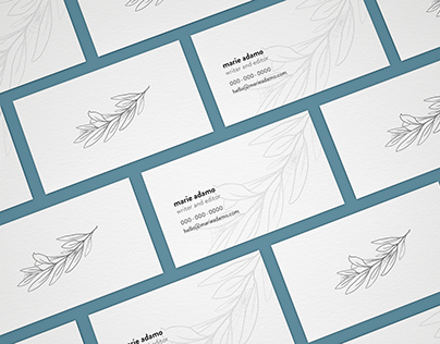 Business Card by Caroline Kim