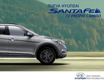 Hyundai Santa Fe 2.0 Turbo con Sistems DBC