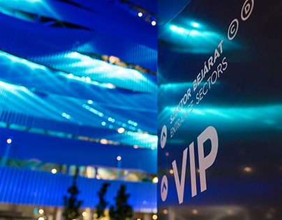 17th FINA World Championships Budapest - Signage System