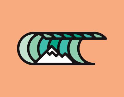 Wave + Mountain